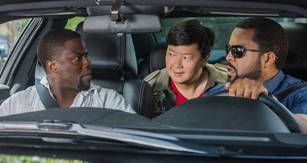 Jeong making his action-comedy debut with Kevin Hart and Ice Cube - COURTESY