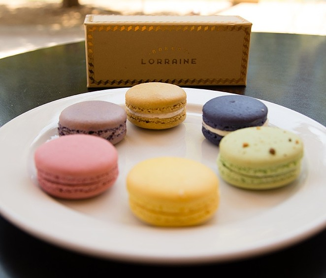 Bakery Lorraine's macarons - COURTESY