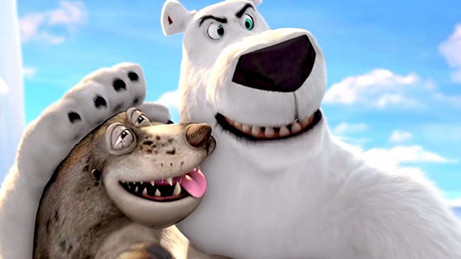 Rob Schneider voices the polar bear on a mission.