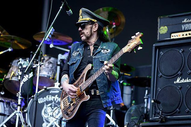 Lemmy in action - VIA FACEBOOK