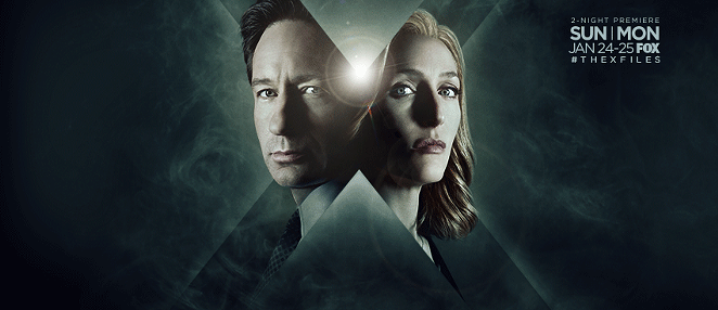 *cue spooky theme music* - THE X-FILES/FACEBOOK