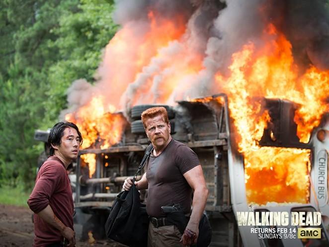 Michael Cudlitz, The Walking Dead - AMC/FACEBOOK