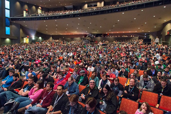 PAX Attendees wait patiently for the fun to start. - COURTESY OF PAX SOUTH
