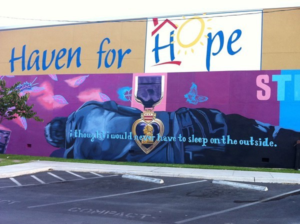 Haven for Hope has added another layer of security to Prospects Courtyard. - COURTESY