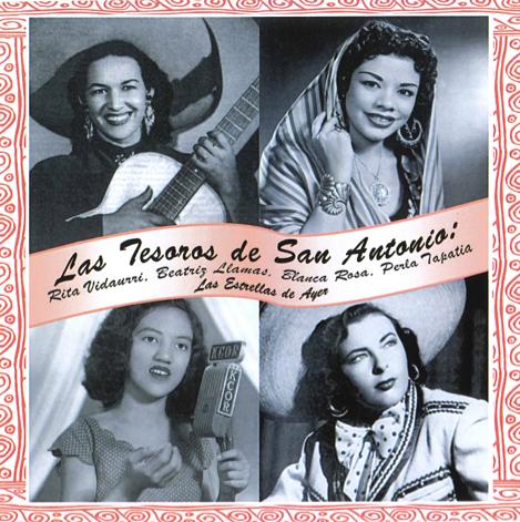 Las Tesoros album cover - ESPERANZA PEACE & JUSTICE CENTER