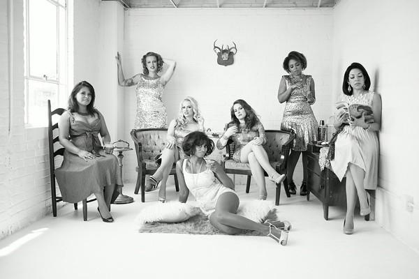 The women of Stars and Garters Burlesqu - COURTESY