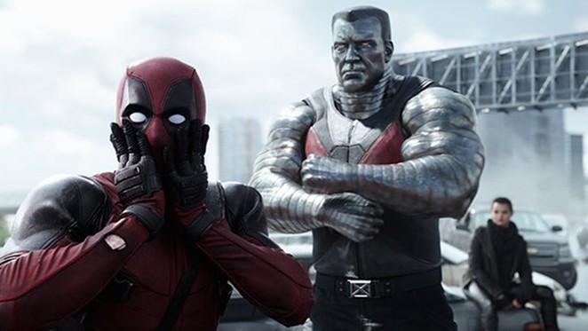Deadpool (Ryan Reynolds) and X-Men friends - COURTESY
