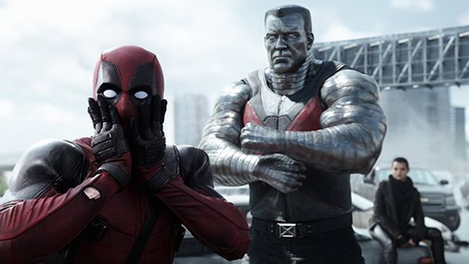 Deadpool (Ryan Reynolds) and X-Men friends - COURTESY