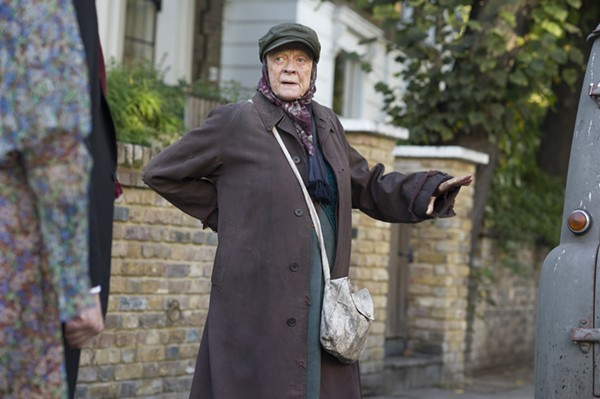 The lady, that one witch from Harry Potter, a totally not boring British movie - COURTESY