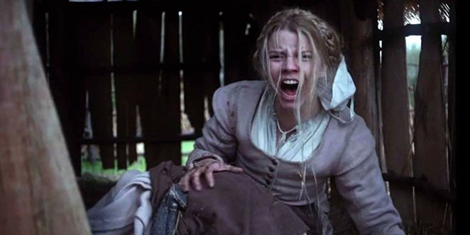 The face of terror in The Witch. - FACEBOOK