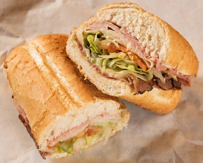 A greater selection of sammiches, soups, salads and more is coming to Rivercenter Mall. - COURTESY