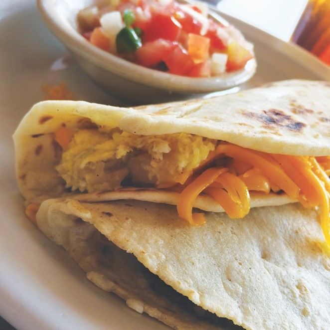 Is there anything better than fresh tortillas?