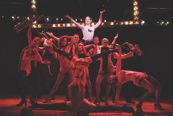 Roundabout Theatre Company's production of Cabaret plays at The Majestic October 25-30.