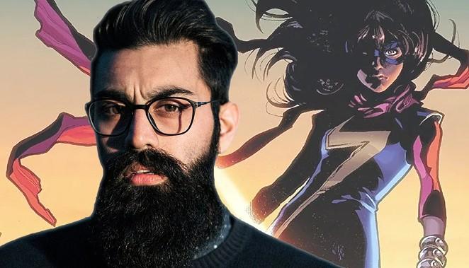 San Antonio native Saagar Shaikh will play Amir Khan, the title superhero's brother. - COMPOSITE BY KIKO MARTINEZ