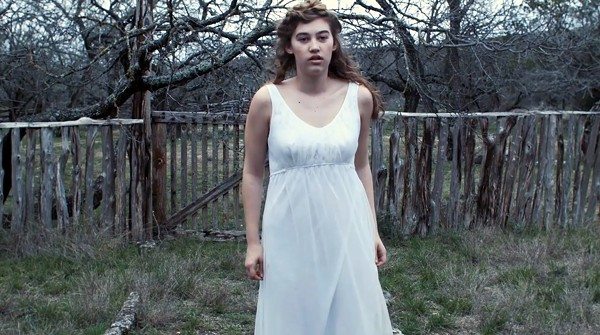 Rachel Brown stars in the lead role of filmmaker Alexia Salingaros's short Lady of Paint Creek. - COURTESY