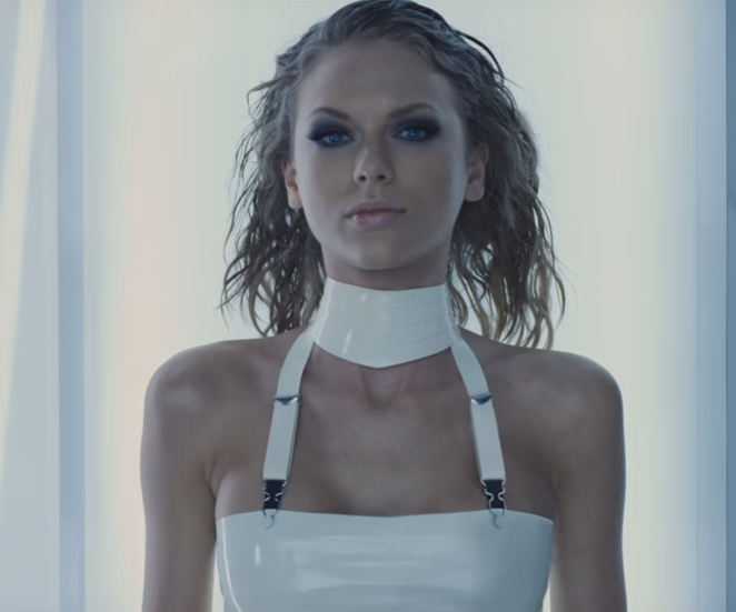 """A still from Swift's collaboration with Kendrick Lamar, """"Bad Blood."""" - YOUTUBE"""