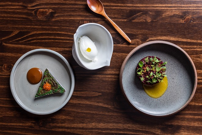 Some of San Antonio's most intriguing 2020 restaurant openings include Kumo (pictured) and Curry Boys BBQ, both of which offer cultural fusions. - JAIME MONZON