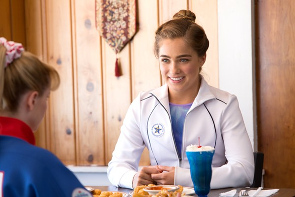 Haley Lu Richardson as Greggory's squeaky clean pupil, Maggie Townsend. - COURTESY OF SONY PICTURE CLASSICS