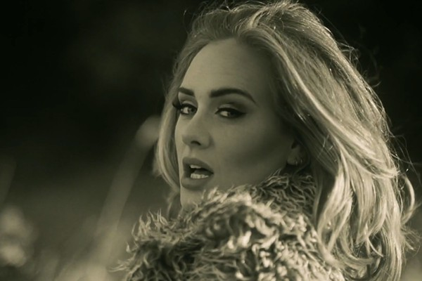 """A screenshot from the """"Hello"""" music video - YOUTUBE.COM"""