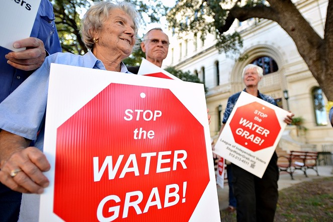 The San Antonio Water System's plan to build the 142-mile Vista Ridge Pipeline has been rife with controversy. - CHARLIE PEARCE/SIERRA CLUB