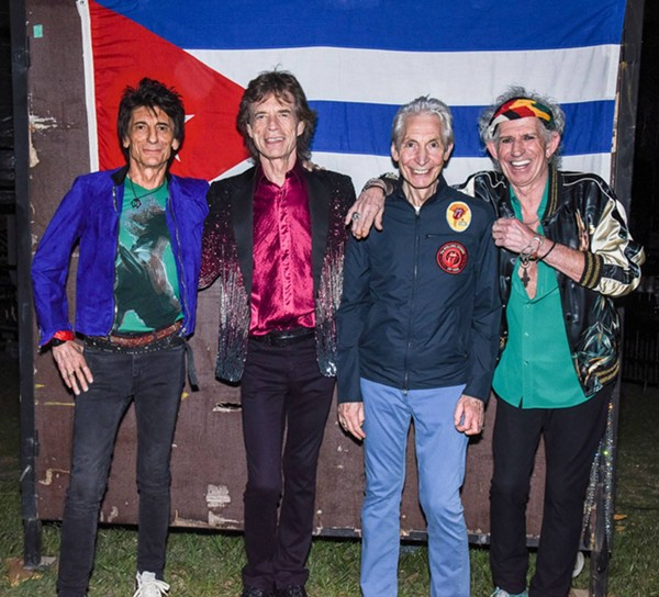 The Stones played a free show in the Cuban capital on Friday. - FACEBOOK
