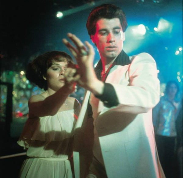 Johnny T. as the blue collar rug-cutter Tony Manero. - FACEBOOK