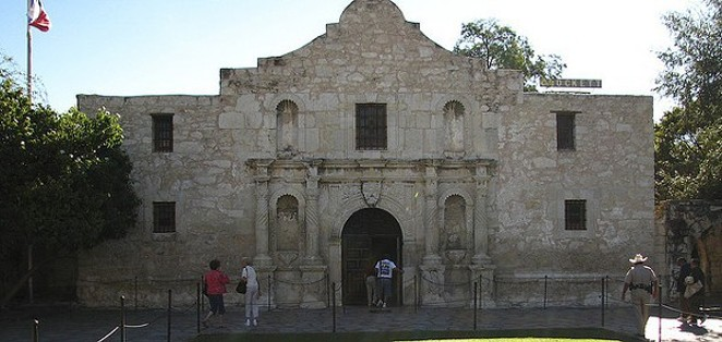 We now know who's going to give the Alamo its face-lift. - VIA FLICKR USER ANDY EICK