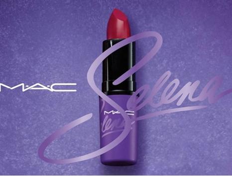 "MAC will release ""Como La Flor,"" Selena's signature red lipstick color, this fall. - PHOTO VIA FACEBOOK/CHRIS PEREZ"