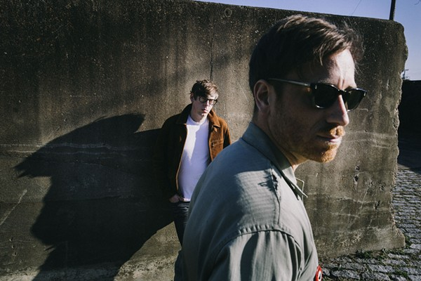 Pat carney and Dan Auerbach of the Black Keys. - DANY CLINCH