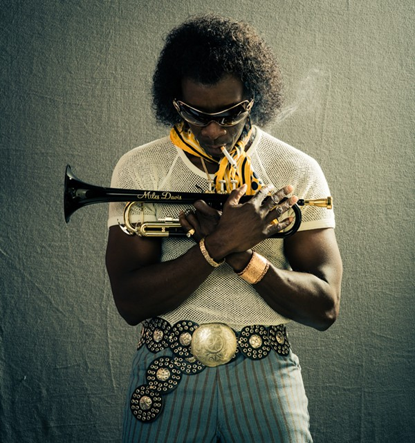 For the role of Davis, Cheadle learned all of the iconic trumpet solos, nothing was faked. - COURTESY