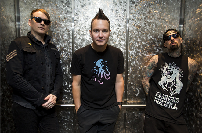 Matt Skiba, Mark Hoppus and Travis Barker - COURTESY