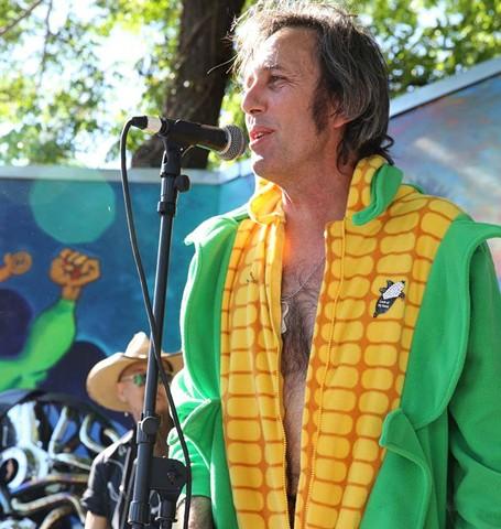 The king of corn, Jeff Smith. - CINDY LIGHT