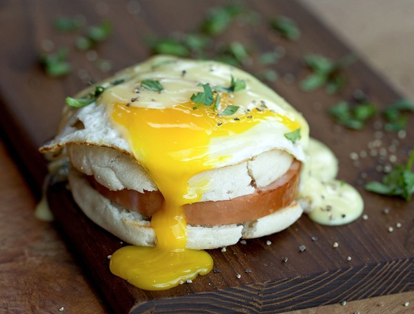 Enjoy the Eggs Benedict at Tacos and Tequila (1915 Broadway, Suite 111) during their Mother's Day buffet brunch on Sunday, May 8. - TACOS AND TEQUILA