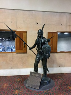 Statue of Quanah Parker - DEPARTMENT FOR CULTURE & CREATIVE DEVELOPMENT
