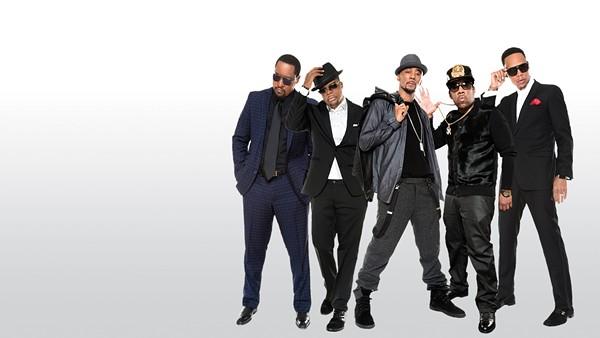 The five Roxbury friends of New Edition - COURTESY