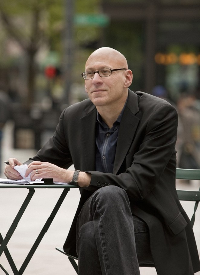 Author David Shields, no doubt plotting the next phase in his assault on the literary world. - COURTESY