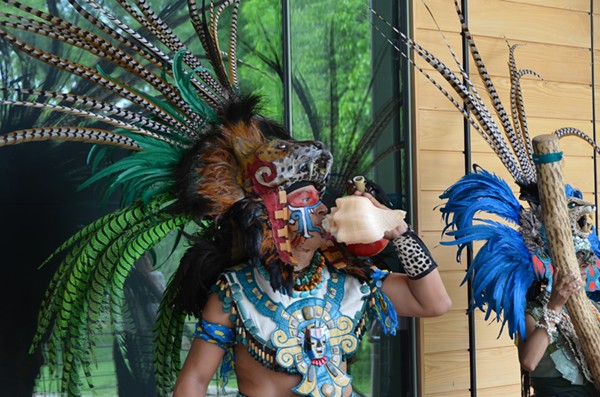 "Grupo Pakal will be on-hand all day Saturday, May 14, as the Witte Museum opens ""Maya: Hidden Worlds Revealed."" - MARK REAGAN 