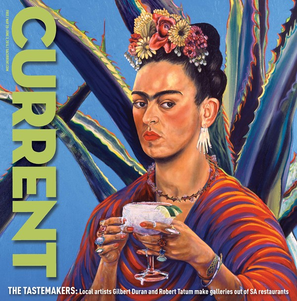 DURÁN'S FRIDA MARGARITA ON THE COVER OF THE SAN ANTONIO CURRENT IN 2014