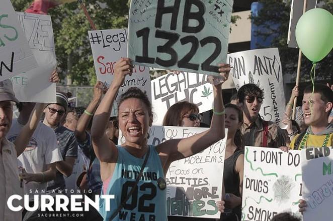 Marijuana activists hope to continue the momentum from 2015 during the 2017 Legislative session. - ALEX RAMIREZ