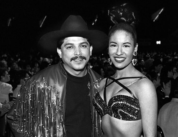 The king and queen of Tejano, Emilio Navaira and Selena Quintanilla. - FACEBOOK