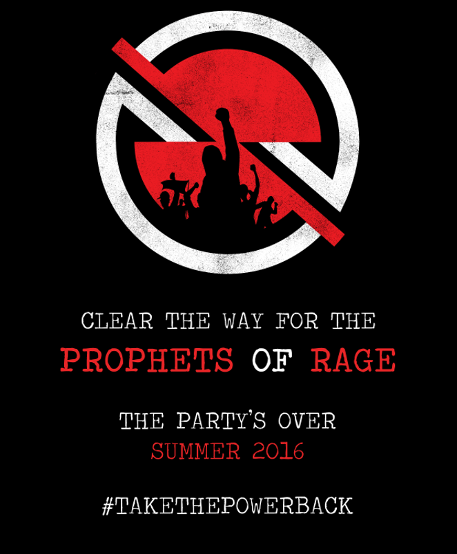 Prophets of Rage Email Flyer - PROPHETSOFRAGE.COM