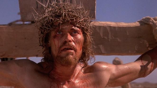 Willem Dafoe as Jesus in Martin Scorsese's  The Last Temptation of Christ. - COURTESY