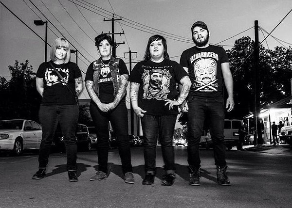 Chicana punk rockers, Fea. - FEA   FACEBOOK