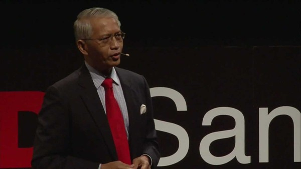 Sichan Siv gives a TED talk at the 2011 San Antonio TEDx event. - YOUTUBE/TEDX