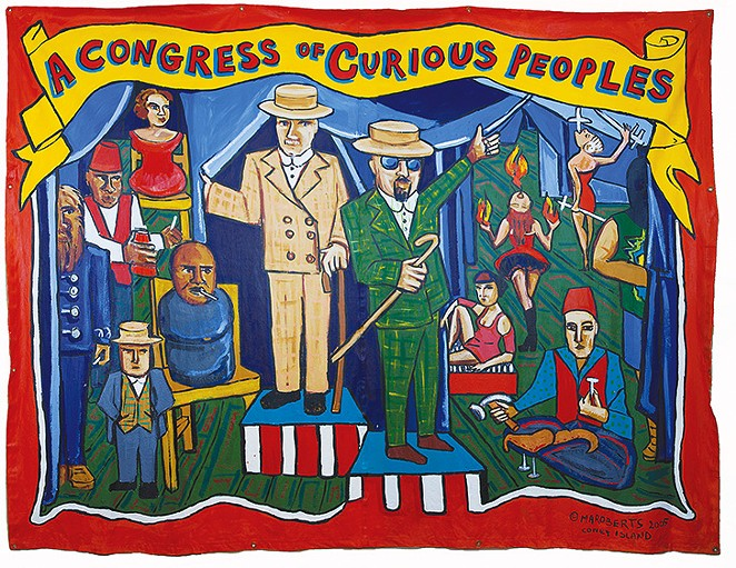 MARIE ROBERTS, A CONGRESS OF CURIOUS PEOPLES, 2005