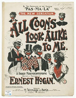 HE SHEET MUSIC FOR HOGAN'S RAGTIME MINSTREL PIECE