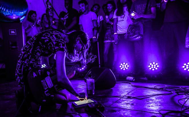 Colleen Green, also in purple. - GREG GABRISCH