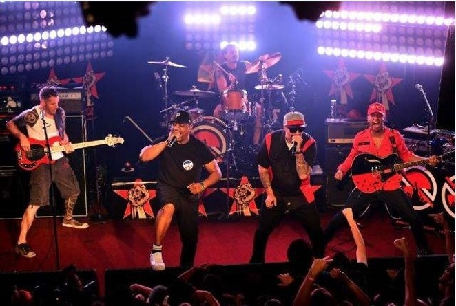 The Prophets of Rage, pulling in a nice profit. - GETTY   COURTESY AT&T CENTER