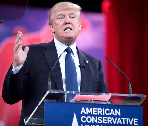 Donald Trump will try to pump some cash out of Texas next this week. - WIKIMEDIA COMMONS/GAGE SKIDMORE