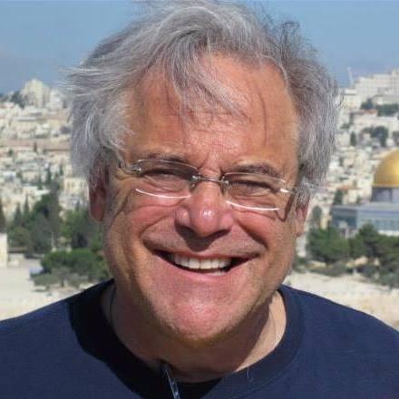 Alan Weinkrantz near the Temple Mount in Jerusalem. Weinkrantz died in an apparent car accident in Tel Aviv this weekend. - COURTESY WINSLOW SWART